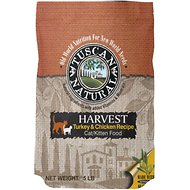 Tuscan Natural Harvest Turkey & Chicken Dry Cat Food, 5-lb bag