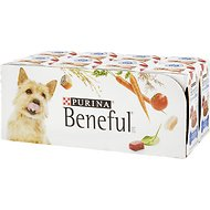 Purina Beneful IncrediBites With Beef, Tomatoes, Carrots & Wild Rice Canned Dog Food, 3-oz, case of 24