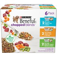 Purina Beneful Chopped Blends Variety Pack Wet Dog Food, 10-oz, case of 6