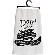 "Primitives By Kathy ""Dog Hair"" Dish Towel"