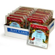 Heath Very Berry Songbird Suet Cake Bird Food, 9.25-oz, case of 16