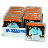 Heath Citrus Grove Songbird Suet Cake Bird Food, 9.25-oz, case of 16
