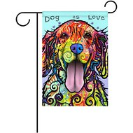 "Gateway Lane ""Dog is Love"" Garden Flag"