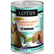 Lotus Salmon Loaf Grain-Free Canned Dog Food, 12.5-oz, case of 12