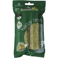 Himalayan Dog Chew Happy Teeth Spinach Flavor Dental Dog Treat, 2 piece, Large