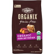 Castor & Pollux Organix Grain-Free Organic Chicken & Sweet Potato Recipe Dry Dog Food, 18-lb bag