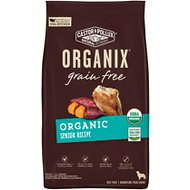 Castor & Pollux Organix Grain-Free Organic Senior Recipe Dry Dog Food, 4-lb bag