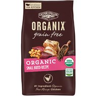 Castor & Pollux Organix Grain-Free Organic Small Breed Recipe Dry Dog Food, 4-lb bag
