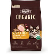 Castor & Pollux Organix Chicken & Brown Rice Recipe Dry Cat Food, 10-lb bag