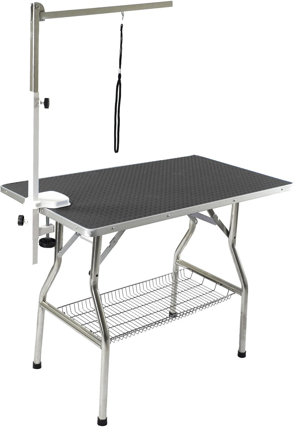 Brilliant Flying Pig Grooming Heavy Duty Dog Cat Grooming Table With Arm Medium Black Home Interior And Landscaping Ologienasavecom