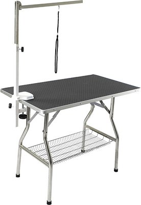 Fantastic Flying Pig Grooming Heavy Duty Dog Cat Grooming Table With Arm Medium Black Home Interior And Landscaping Ologienasavecom