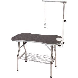 Flying Pig Grooming Bone Shaped Grooming Table with Arm