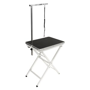 Flying Pig Grooming Mini Portable Dog & Cat Grooming Table with Arm