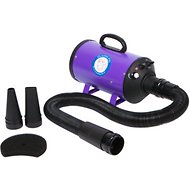 Flying Pig Grooming High Velocity Dog & Cat Grooming Dryer, Purple