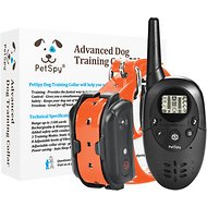 PetSpy M86N Advanced Dog Training Collar, Orange