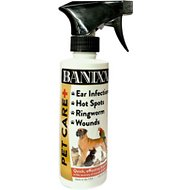 Banixx Pet Care Bacterial & Fungal Infections Dog, Cat & Horse Spray, 8-oz bottle