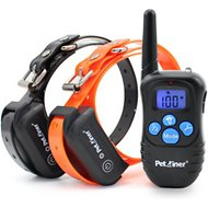 Petrainer 998DBB Remote Controlled Dog Training Collar System, 2 count