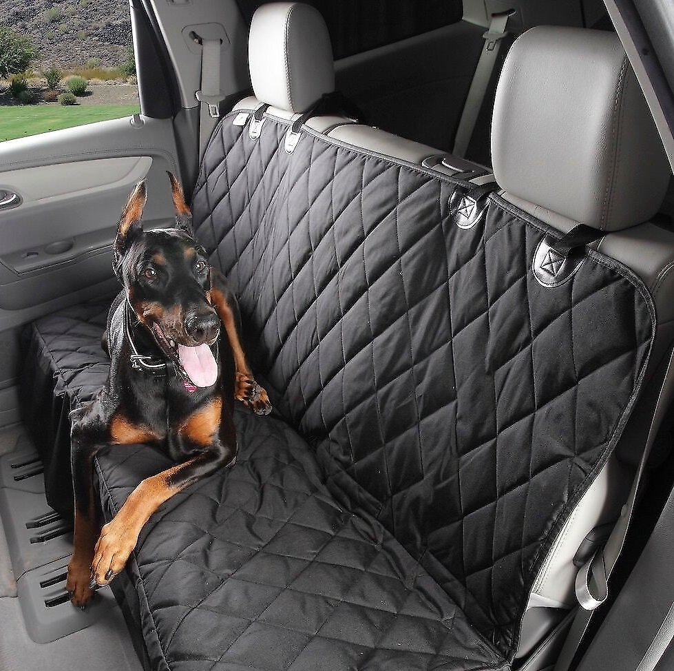 4Knines Rear Fitted Seat Cover Black