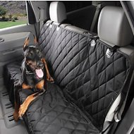 4Knines Rear Fitted Seat Cover, Black