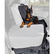 4Knines Rear Fitted Split Seat Cover, Black