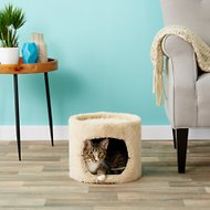 Flexrake Carpeted Single Story Cat Condo