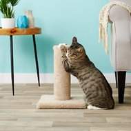 Flexrake 16-in Carpeted Scratching Post, Color & Texture Varies
