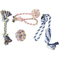 Otterly Pets Assorted Small to Medium Rope Dog Toys, 4 count