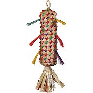 Planet Pleasures Spiked Piñata Natural Bird Toy, Color Varies, Large