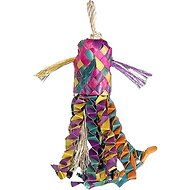 Planet Pleasures Octopus Piñata Bird Toy, Color Varies, Small