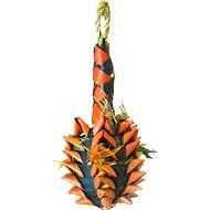 Planet Pleasures Pineapple Foraging Bird Toy, Small, Color Varies