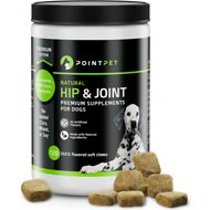 PointPet Glucosamine Chondroitin Hip & Joint Dog Supplement, 120 count