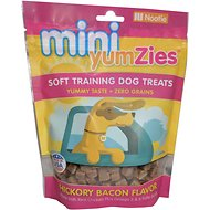 YumZies Mini Hickory Bacon Flavor Grain-Free Dog Treats, 5-oz bag