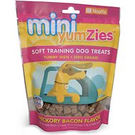 YumZies Mini Hickory Bacon Flavor Grain-Free Dog Treats, 10-oz bag