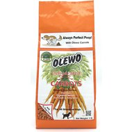 Olewo Digestive Health Dehydrated Carrots Dog Food Topper, 1-lb bag