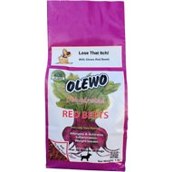 Olewo Dehydrated Red Beets Dog Food Topper, 1-lb bag