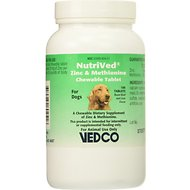 VEDCO NutriVed Zinpro Dietary Chewable Dog Supplement, 100  count