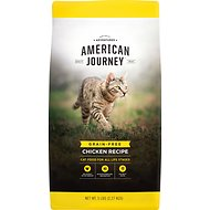 American Journey All Life Stages Chicken Recipe Grain-Free Dry Cat Food, 5-lb bag