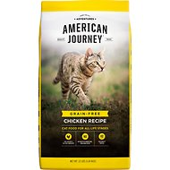 American Journey Chicken Recipe Grain-Free Dry Cat Food, 12-lb bag