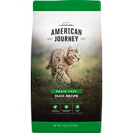 American Journey Duck Recipe Grain-Free Dry Cat Food, 5-lb bag