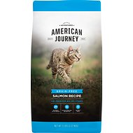 American Journey Salmon Recipe Grain-Free Dry Cat Food, 5-lb bag