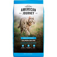 American Journey Salmon Recipe Grain-Free Dry Cat Food, 12-lb bag