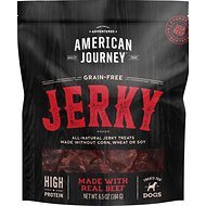 American Journey Beef Jerky Grain-Free Dog Treats, 6.5-oz bag