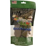 Wet Noses Beef Jerky Dog Treats, 5.5-oz bag