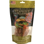 Wet Noses Turkey Jerky Dog Treats, 5.5-oz bag