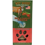 Wet Noses Beef & Barley Dehydrated Patties Dog Food, 12 count