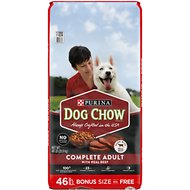 Dog Chow Complete Adult with Real Beef Dry Dog Food, 46-lb bag
