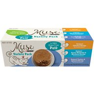 Purina Muse Natural Pate Recipes Adult Variety Pack Canned Cat Food, 3-oz, case of 6