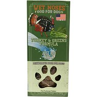 Wet Noses Turkey & Greens Dehydrated Patties Dog Food, 12 count
