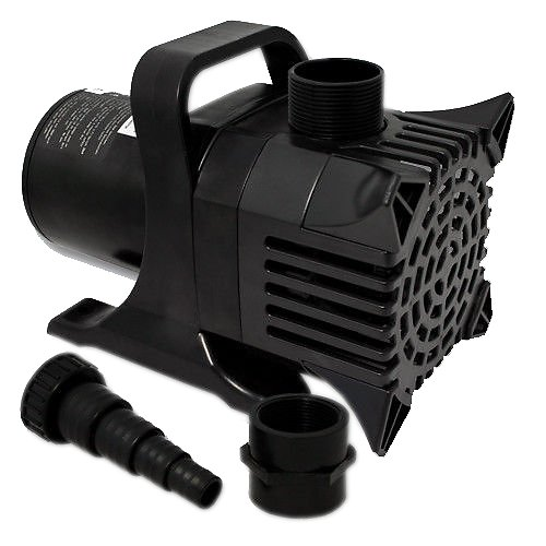 Jebao submersible 660w pond pump 7925 gph for Submersible pond pumps