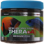 New Life Spectrum Thera-A 2mm Sinking Pellet Fish Food, 8.8-oz jar